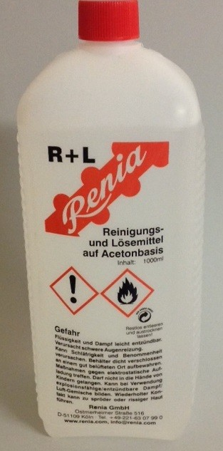 RENIA R+L ACETON   1 LTR.