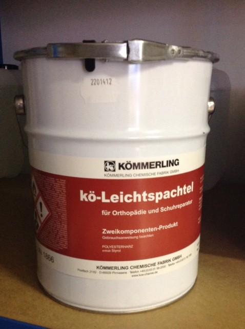 KOE  LEICHTSPACHTEL 3 KG M.HÄRT.3x30 gr.