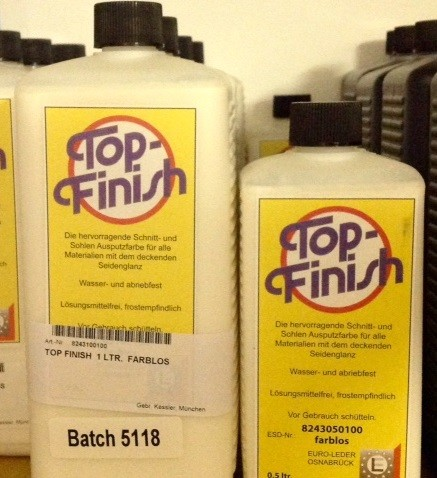 TOP FINISH  0.5 LTR.  FARBLOS