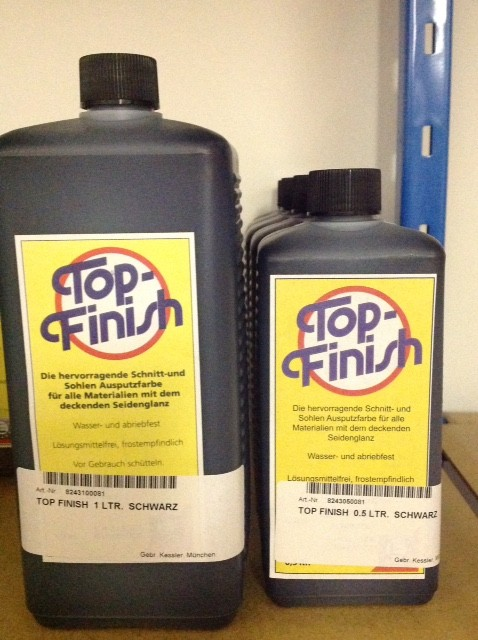 TOP FINISH  0.5 LTR.  SCHWARZ