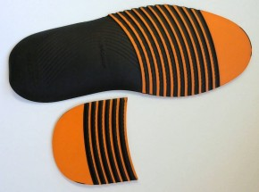 HEXA 4 GRIP  LIFESTYLE + ABS. GR. XXL ORANGE/SCHWARZ